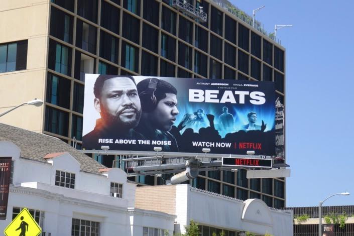 Beats Netflix movie billboard