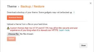 blogger me theme backup or upload kaise kare, blogger theme Ka copy backup upload Kyu kaise kare