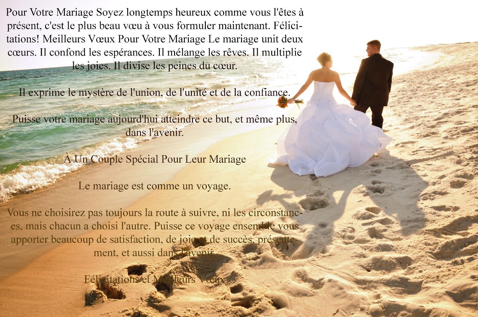 Texte d'amour pour mariage ~ Invitation mariage - Carte mariage ...