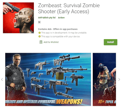 game zombeast android