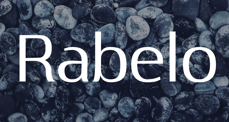 Rabelo free font preview