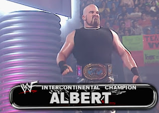 WWE / WWF Invasion 2001 PPV - Intercontinental Champion Albert