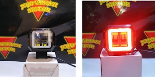 Model Lampu LED Day Maker Mini Square