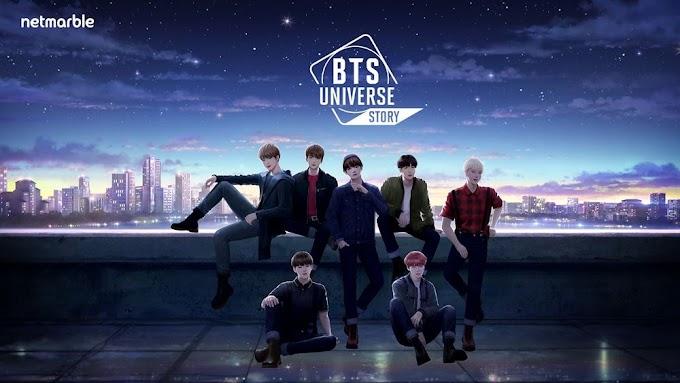 BTS Universe Story NOVELA INTERATIVA APK