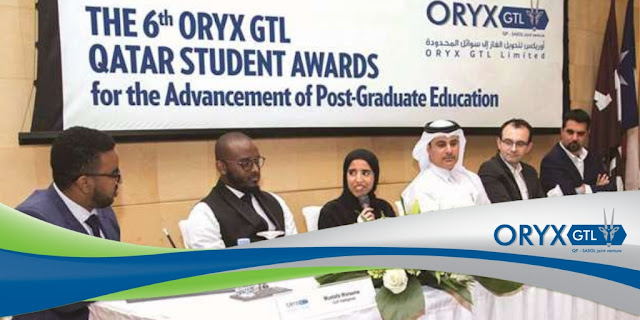 Image Attribute: On January 31, 2019, ORYX GTL kicked off the sixth year of its student awards campaign for the advancement of postgraduate education in Qatar with a seminar held at Texas A&M University at Qatar. / Source: Gulf Times