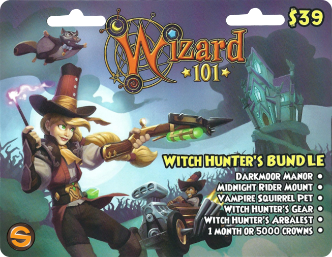 wizard101 witch hunter bundle