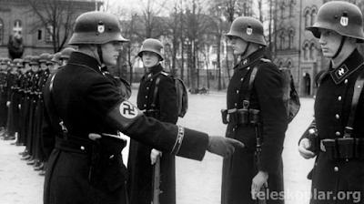 askeri üniforma naziler