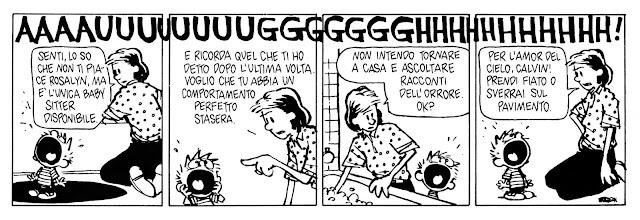 Watterson - lettura corso di fumetto Castello Milano