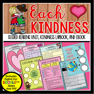 Check out this post to learn more about the book, Each Kindness by Jacqueline Woodson and how to use it in the classroom.