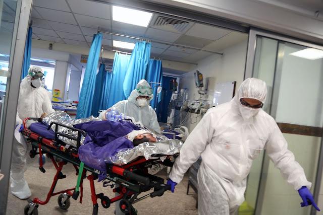 अमेरिका में कोरोना वायरस के वैश्विक प्रकोप से एक दिन में 2100 से अधिक की गई जान