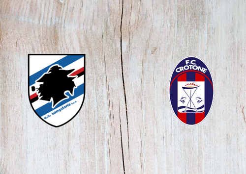 Sampdoria vs Crotone -Highlights 19 December 2020