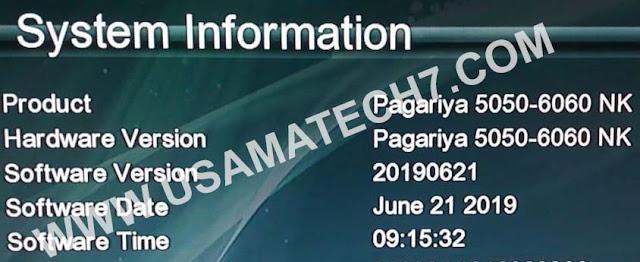 PAGARIA 5050 & PAGARIA 6060 NEW SOFTWARE DOWNLOAD