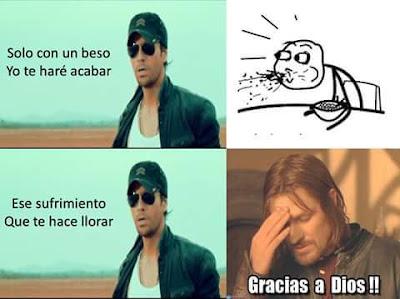 Meme de Humor : Enrique Iglesias - Duele el corazón