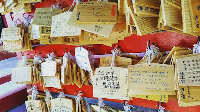 ema japan wooden prayer