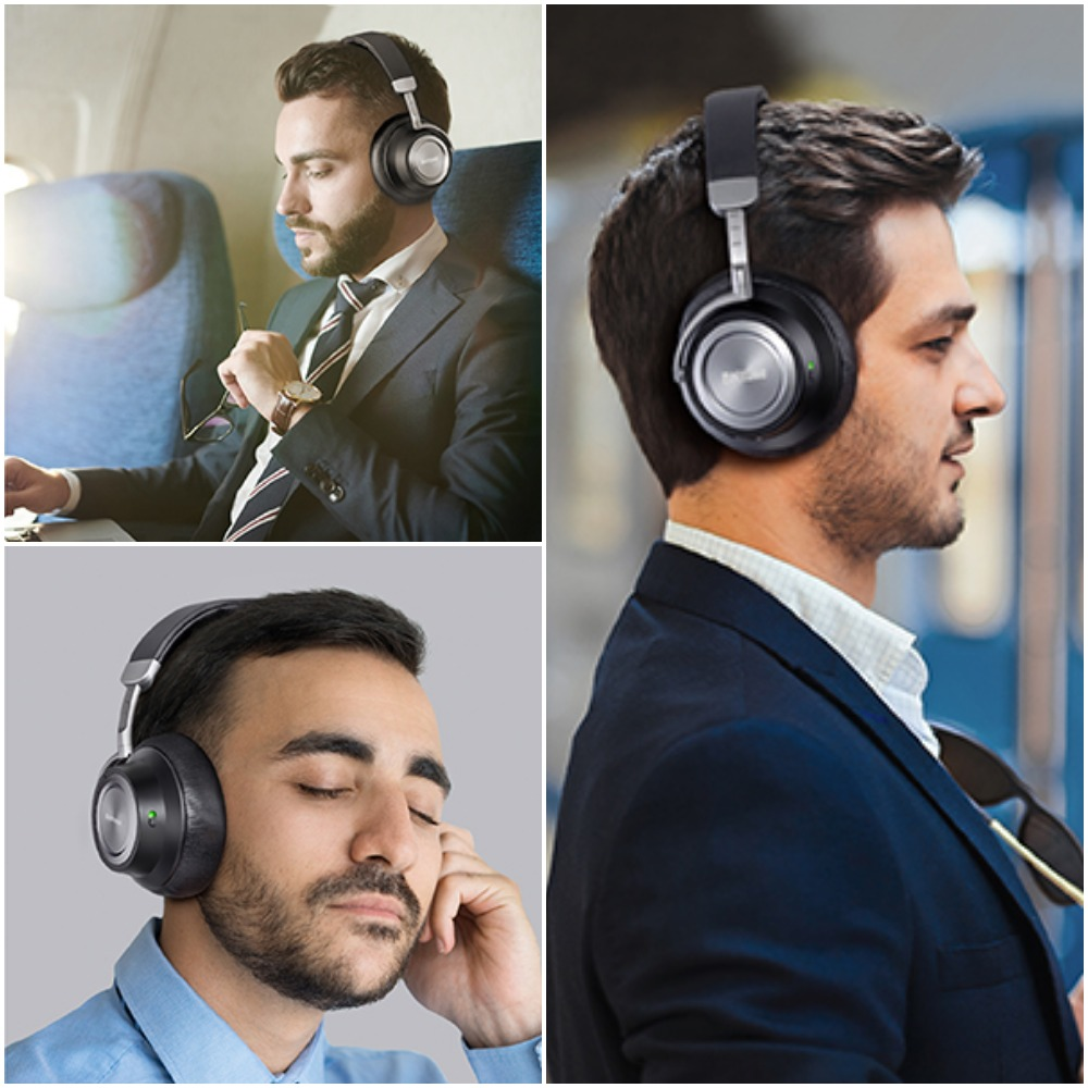Hybrid Active Noise Cancelling Headphones