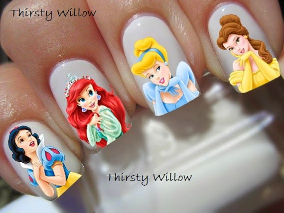 Nail art frozen disney design ideas creativehozz about home this time i will share interesting info on nail art about specific design disney cute and cool read also diy craft anna elsa frozen peg dolls very prinsesfo Images