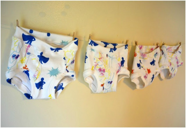 Sewing for the Boy: Kid-Designed Underwear