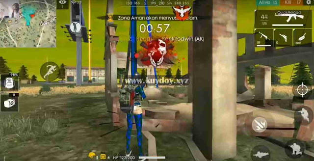Script Free Fire VIP v1.33.3 |Full Menu, Remove Sea, Easy Headshot