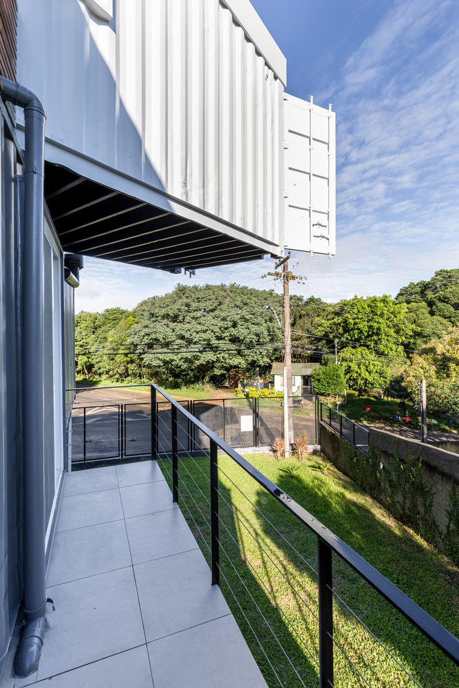Casa Conteiner RD - 350 sqm Two Story Shipping Container Home, Brazil 14