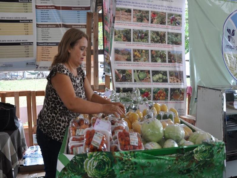 Agricultora de Matureia - Silvania Agrorgânicos