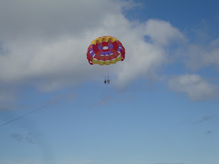 parasailing in Catalina Island