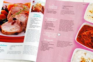 Wnętrze magazynu, przepisy na świąteczne mięsa