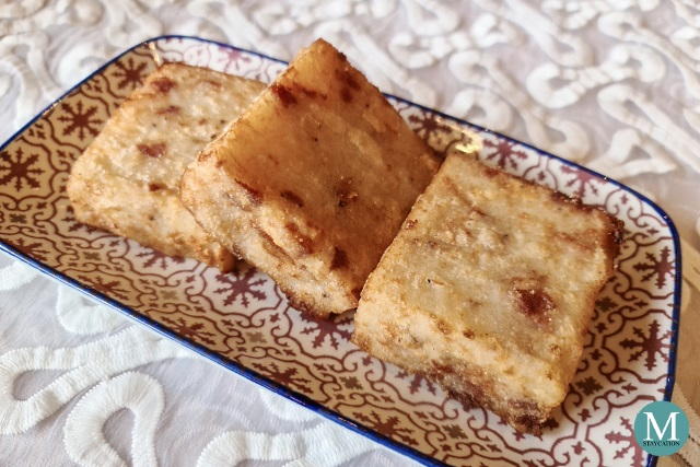 Pan-fried Radish Cake (chhai thau koe) at Summer Palace at Edsa Shangri-La, Manila