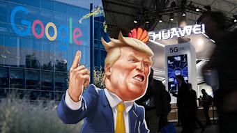 Google vs Huawei:  ماذا سيحدث بعد حظر جوجل لشركة هواوي من استخدام خدماتها ومن الحصول على تحديثات أندرويد؟