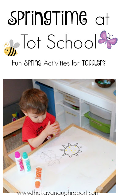 A series of easy tot school activities to celebrate spring. These spring themed trays can help to teach toddlers a variety of fun skills.