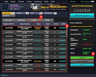 Cara Mendaftar Judi Turnamen Poker Online Indonesia