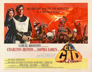 El rodaje de El Cid - 1961