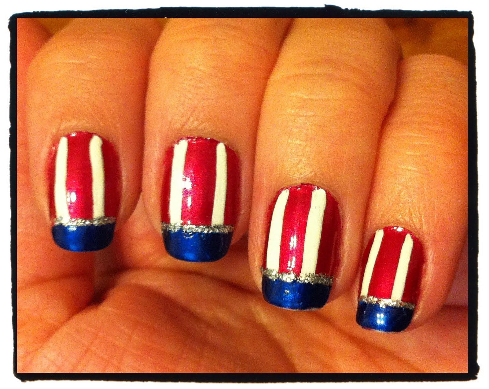 4th Of July Nail Designs - Pccala