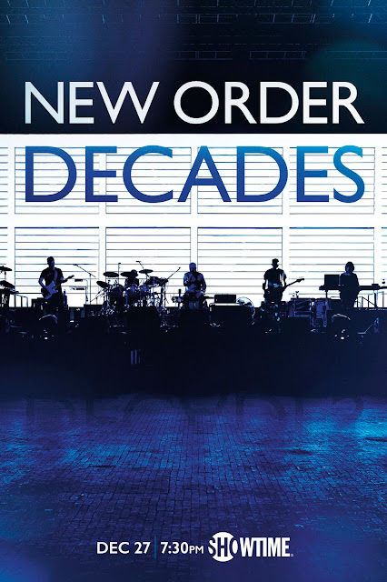 NEW ORDER DOCUMENTARY 'NEW ORDER: DECADES' COMING TO SHOWTIME