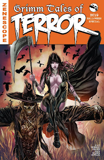 Cover A of Grimm Tales of Terror 2019 Halloween Special from Zenescope Entertainment