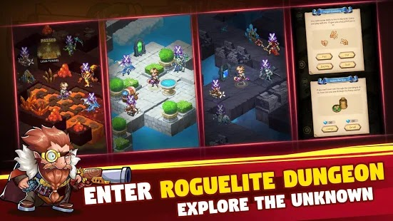 Brave Dungeon: Roguelite IDLE Apk Free on Android Game Download