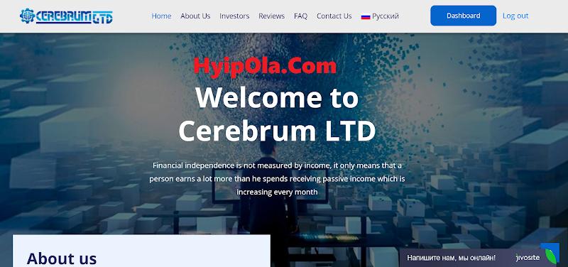 [SCAM] Review Cerebrum-ltd : Dự án đến từ công ty Trading Singapore - Lãi từ 1.5% hằng ngày