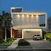 Fachada de casa contemporânea revestida com ladrilho hidráulico geométrico!