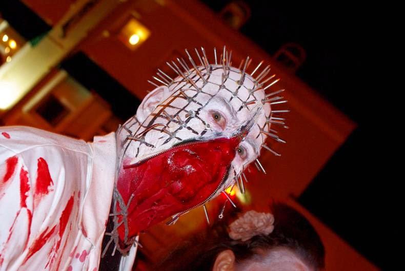 Pinhead Halloween Scary