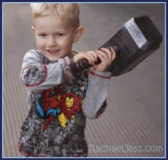 Every necessary accessory - Thor's Hammer