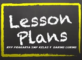 RPP Daring Dan Luring Prakarya SMP Kelas 9 Semester 1 Dan 2