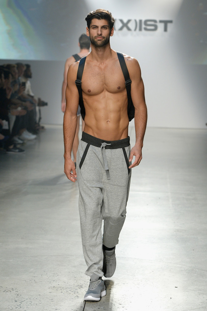 Nude Male Models On Runway