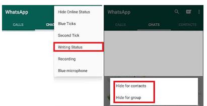 cara menghilangkan status sedang mengetik di whatsapp android