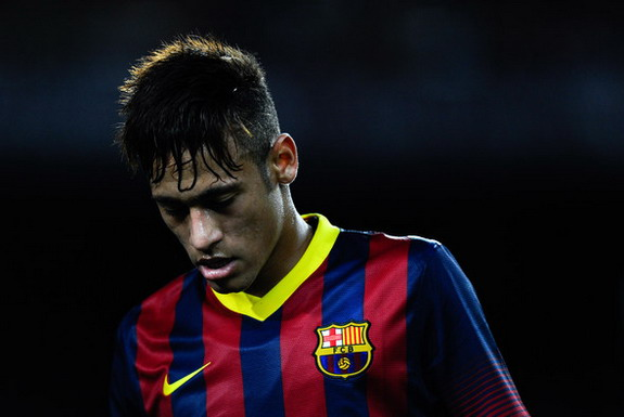 Neymar has been warned that he could injure his knee if he gains more weight