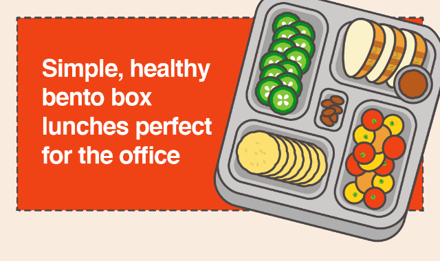 Simple, Healthy Bento Box Lunches Perfect For The Office