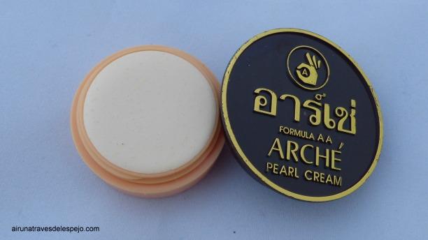 crema perlas cuidado facial antimanchas