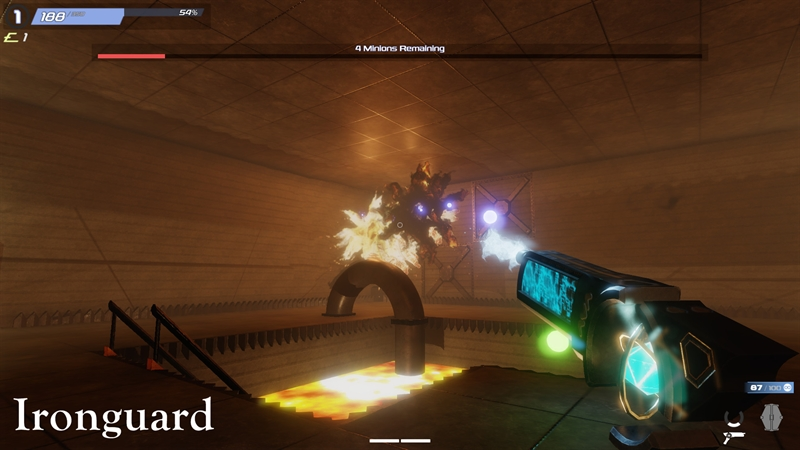 Ironguard PC Game Free Download Poster