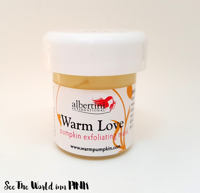 Albertini Warm Love Pumpkin Exfoliating Mask