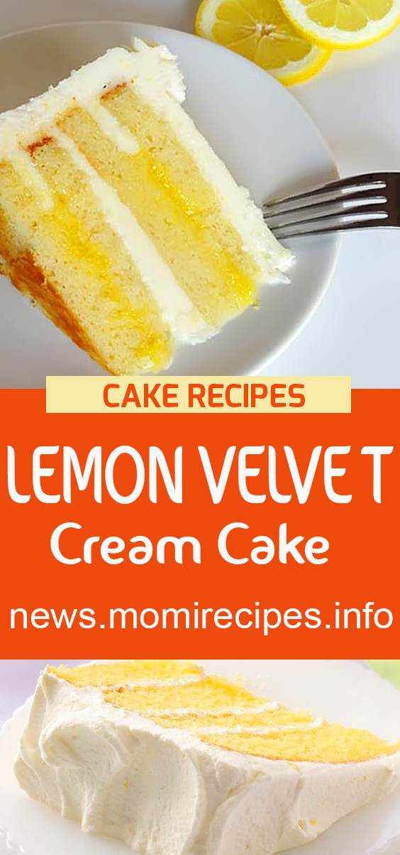 I made this cake with my sister for a big family event. truly extraordinary and very enjoyable.  Lemon Velvet Cream Cake | cake recipe, dessert recipes, chocolate cake recipe, carrot cake recipe, chocolate cake, easy cake recipes, cheesecake recipe, easy dessert recipes, baking recipes, sponge cake recipe, simple cake recipe, fruit cake recipe, vanilla cake recipe, pound cake recipe, chocolate recipes, apple cake recipe. #lemonvelvetcake #lemoncake #cakerecipes #lemonvelvet