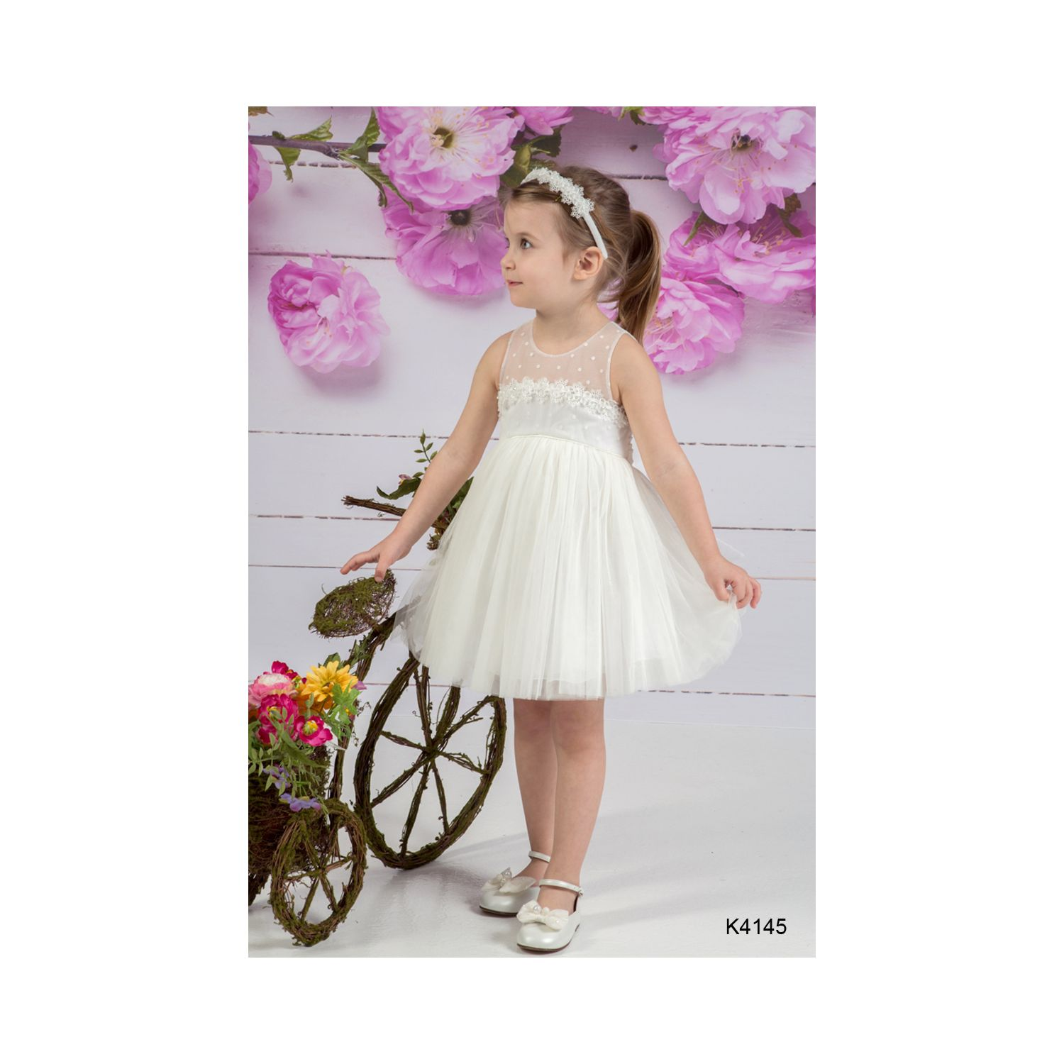 Greek Christening dress K 4145