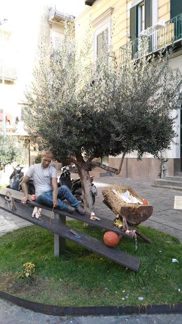 Monumento a Jenny Cesarano-Rione Sanità-Napoli